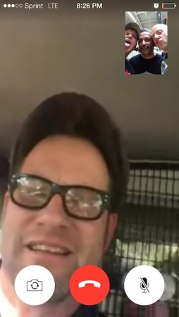 It's FaceTime Bitches! Adam's in Australia fer Christ's sake!!!