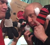 The Sock Monsters Visit the Show (photo HiD)