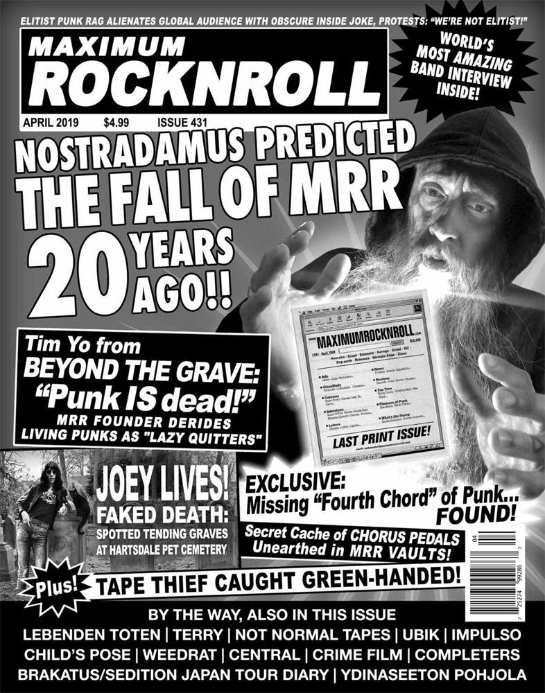 Maximum Rocknroll #431