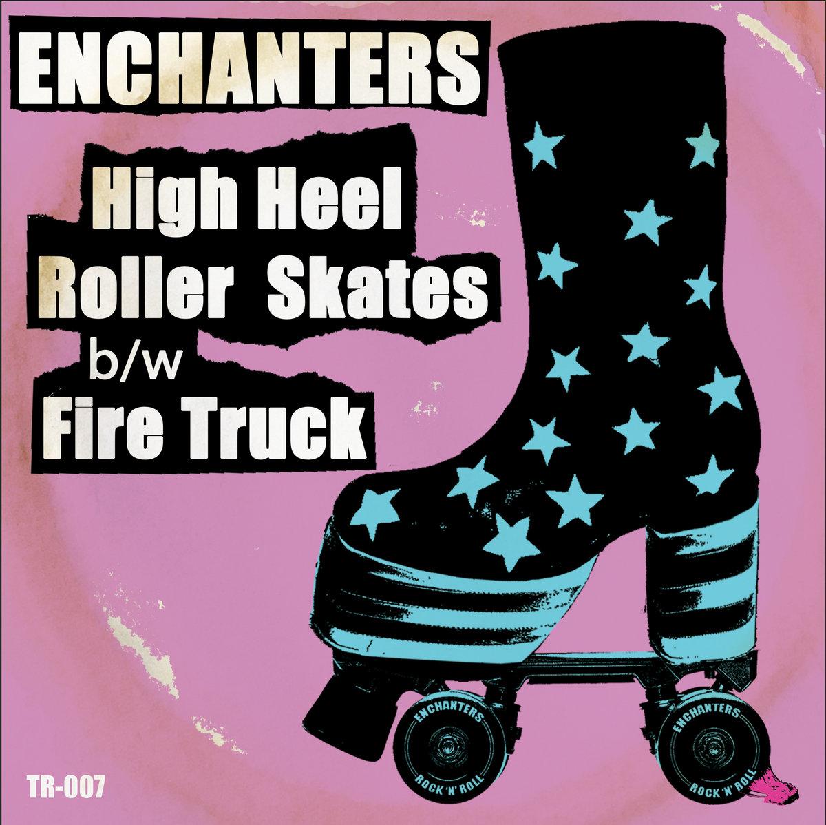 High Heel Roller Skates / Fire Truck 7