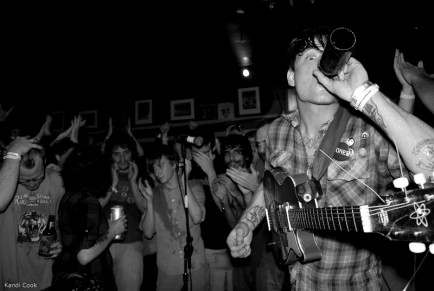 Thee Oh Sees at GonerFest 6, Hi Tone Cafe, Memphis, TN (photo by Kandi Cook)