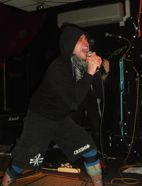 Stab (UK) at The Grosvenor in London. March 2012. (photo Pete Craven)