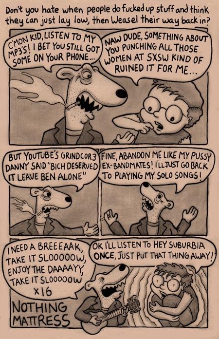NothingMattress_MRR_Funnies3_Weasel